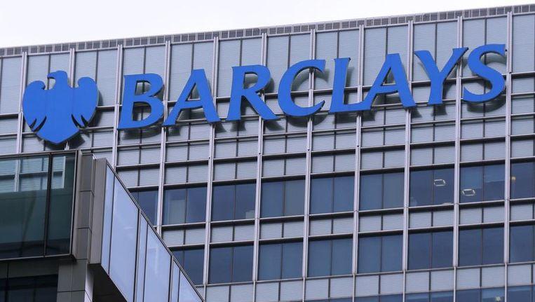 Het logo van Barclays op een kantoor in Londen. Beeld reuters