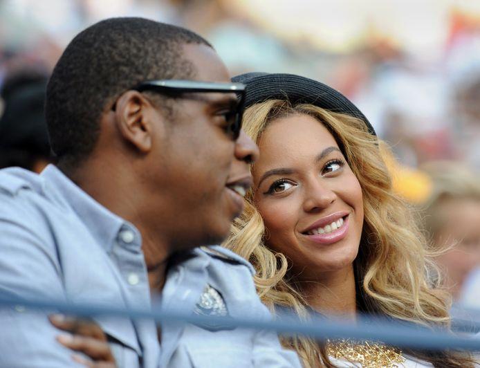 De bekende Beyoncé en haar man Jay-Z.