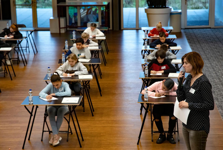 Het Groot AugDictee in Eindhoven, dit jaar met kinderboekenschrijfster Maren Stoffels, is elk jaar weer een hele uitdaging.