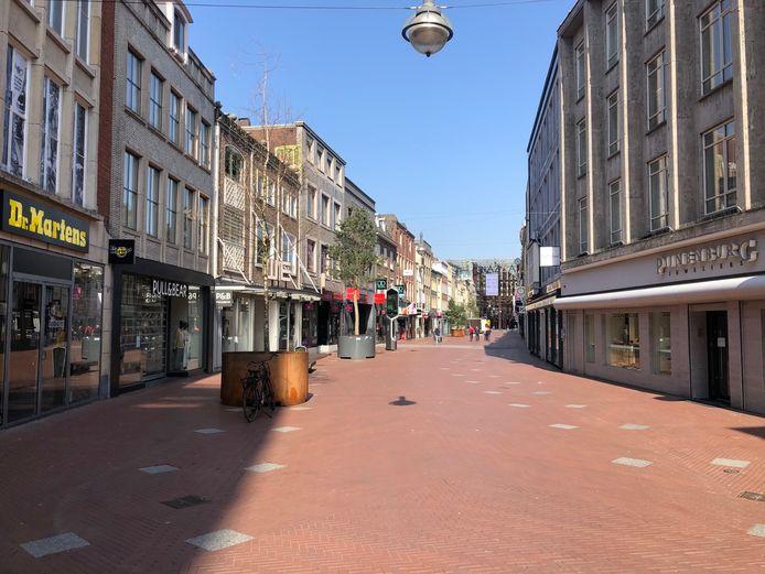 Een verlaten Demer in Eindhoven.