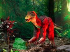 Levensgrote brullende dinosaurussen bevolken deze zomer alle zalen van het World Forum