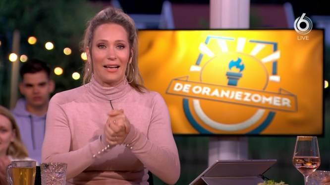 Hélène Hendriks bezorgt De Oranjezomer nieuw kijkcijferrecord