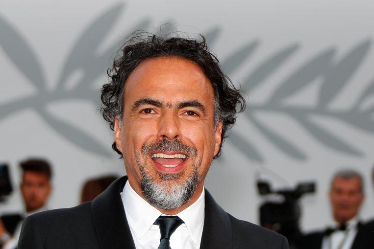 De Mexicaanse regisseur Alejandro G. Iñárritu wordt dit jaar de juryvoorzitter van het Cannes Film Festival. Beeld EPA