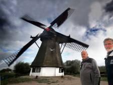 Molen De Vervoorne Polder draait weer in volle glorie: 'Molens zijn in. En dit is een molen met een verhaal'