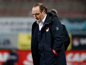 """KV Kortrijk, club in de zorgen: """"Het lijkt alsof elke kans van de tegenstander een doelpunt wordt"""""""