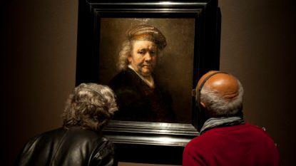 Experts reconstrueren stem van Rembrandt op basis van zelfportretten