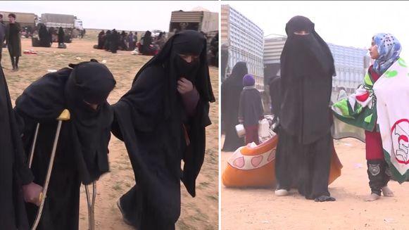 Vluchtelingen uit Baghouz