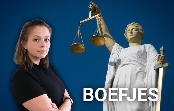 Serena Hofman beschrijft klein leed in de rechtbank in de serie Boefjes.