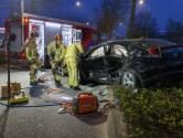 Ongeval in Eindhoven: man bekneld na botsing met auto