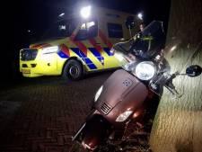 Twee gewonden bij scooterongeluk in Tubbergen