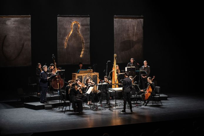 Uitvoering Bosch Requiem van Calliope Tsoupaki tijdens November Music