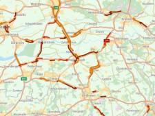Sneeuw trekt weg uit Brabant, ook verkeersproblemen opgelost