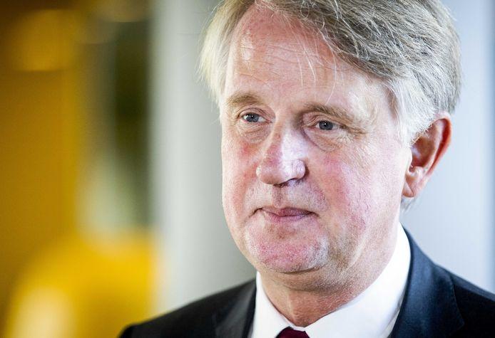 Topman Dick Benschop van Schiphol.