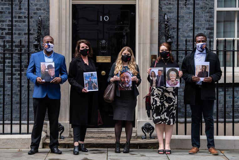 De Britten hebben het tijdens de pandemie aanmerkelijk slechter gedaan dan veel andere landen.   Beeld Getty Images