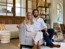 """Maxime (30) en Charlotte (30) openen meubelwinkel in voormalig stationsgebouw van Oostakker: """"Je betaalt hier geen 10.000 euro voor een kwaliteitsvolle zetel"""""""