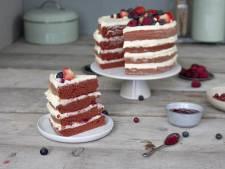 Wat Eten We Vandaag: Red velvet naked cake met rood fruit