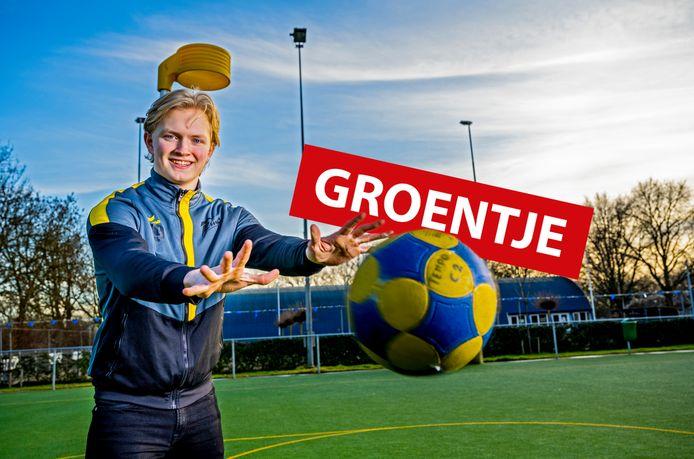 Ruben Zuidgeest van Korfbal Tempo.