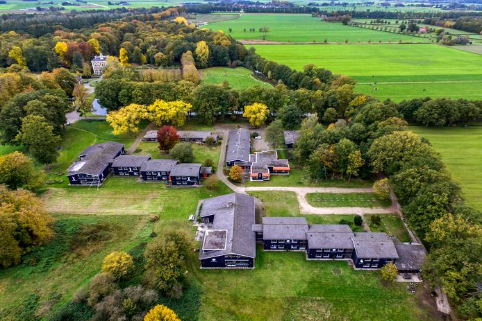Park Den Alerdinck in Laag Zuthem.