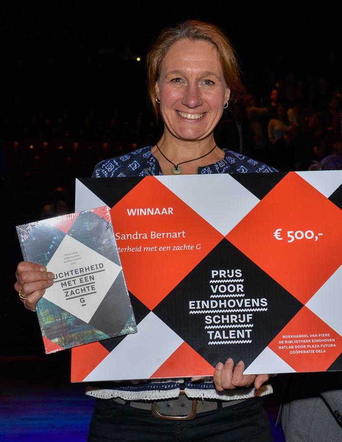 Eindhovens Schrijftalent Sandra Bernart