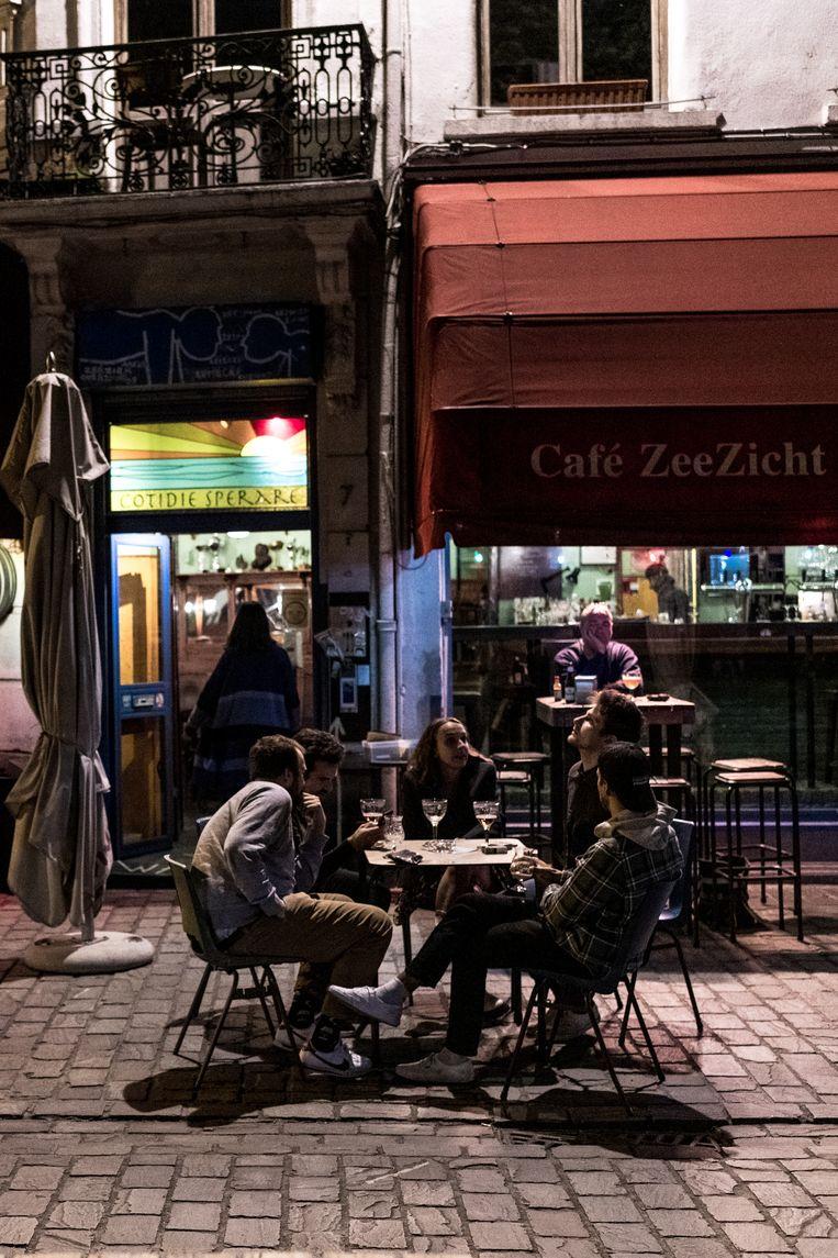 café Zeezicht, Antwerpen Beeld Tine Schoemaker