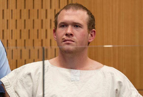 Brenton Tarrant kreeg 92 aanklachten aan zijn broek.