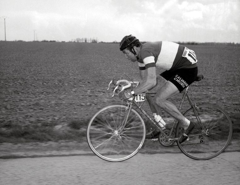 Gimondi tijdens de Tour de France van 1969. Beeld null
