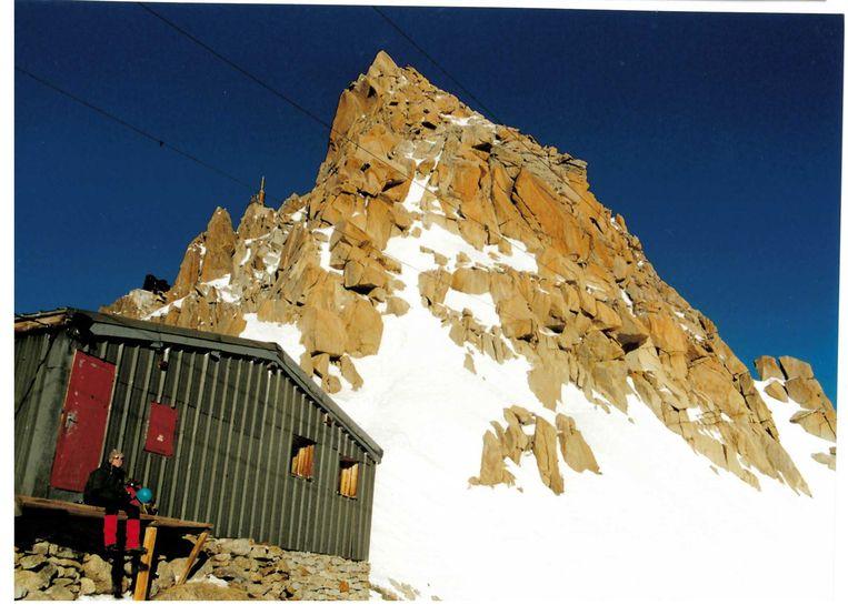 Toine Heijmans in de bergen.  Beeld Privécollectie