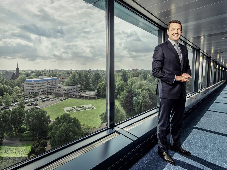 Pieter Elbers, president-directeur van de KLM. Beeld Martin Dijkstra/Lumen