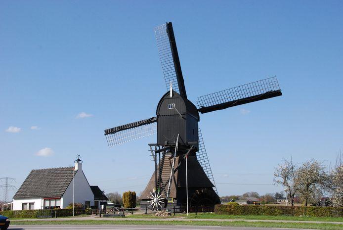 De Oostmolen in Mijnsheerenland.
