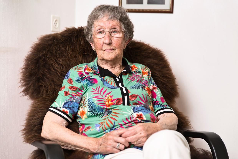 Marie Verbraeken-Blommaart: 'Nog steeds geef ik gastlessen op scholen, zodat deze geschiedenis levend blijft.'