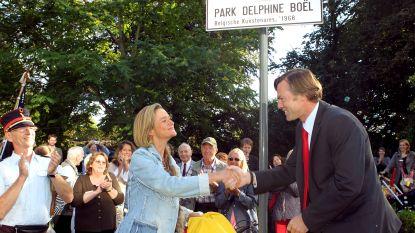 Krijgt Delphine Boël nu ook een officieel park?