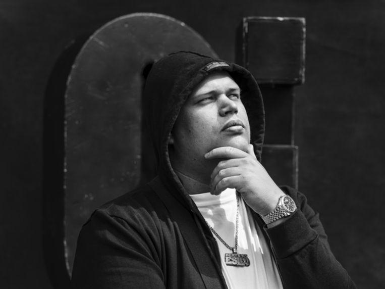 Esko 'Ik hou van Almere' Beeld Frank Ruiter