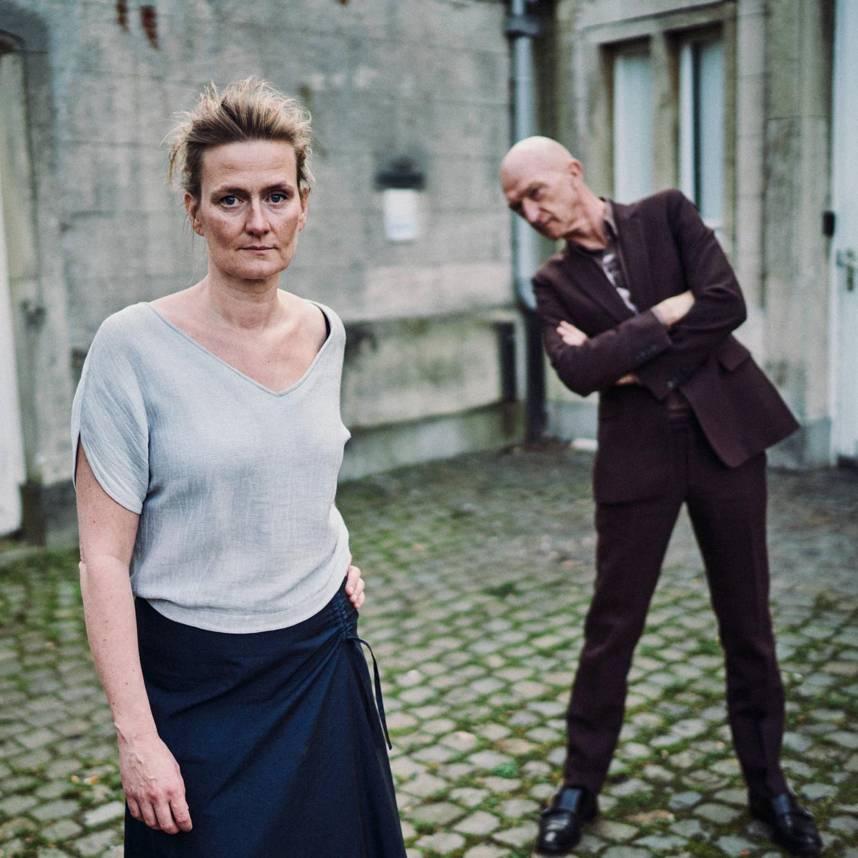 Ruth Joos en Wilfried de Jong: 'Wij zijn niet bang voor het onvolmaakte.' Beeld Thomas Sweertvaegher