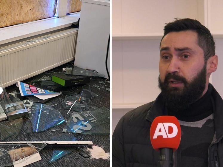 Winkeleigenaren Rotterdam-Zuid zagen live hoe ze werden beroofd