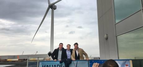 Hoge windmolens langs A1/A35 zijn goed voor ruim 11.000 huishoudens