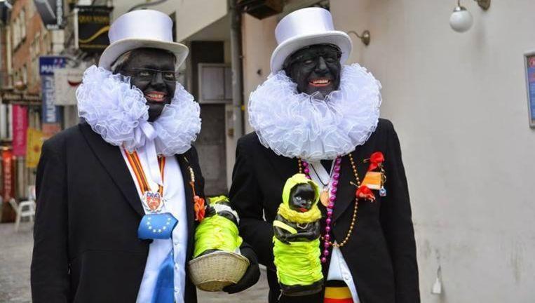 Didier Reynders en burgemeester Yvan Mayeur dit jaar. Beeld rv