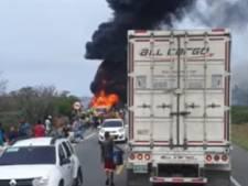 Sept morts et 46 blessés dans l'explosion d'un camion-citerne en Colombie