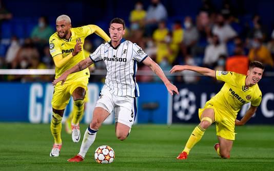 Robin Gosens in actie tegen Villarreal.