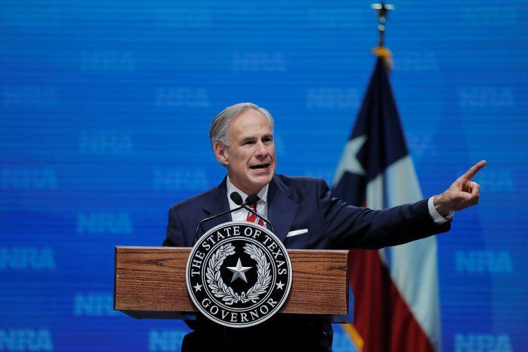 Greg Abbott, gouverneur van Texas. Beeld REUTERS
