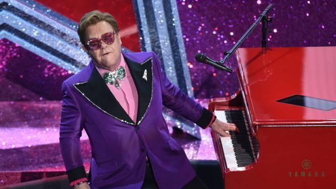 """Elton John wil dit bekende nummer nooit meer spelen: """"Dat liedje is een uit de hand gelopen grapje"""""""