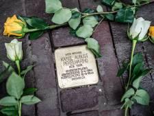 Herdenkingsstenen (Stolpersteine) voor in oorlog weggevoerde Joodse Woerdenaren
