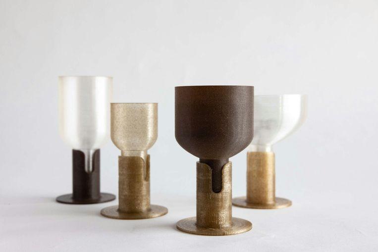 Glazen van zeewier, van Studio Klarenbeek & Dros Beeld