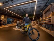 E-bike mét fietstas vliegt over de toonbank: 'Geen vakantie, wel nieuwe fiets'