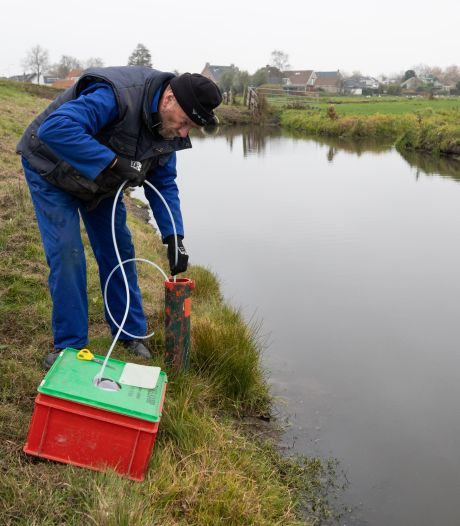 Gevaarlijke stoffen in slootbodems Westdijk