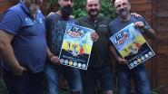 Veertig striptekenaars op zevende stripbeurs