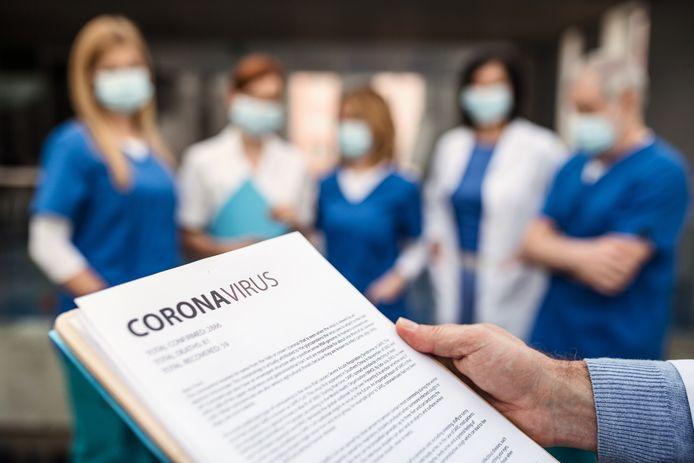 stockadr coronavirus corona COVID-19 ziekenhuis personeel bescherming