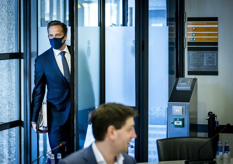 Demissionair minister Hugo de Jonge.  Beeld EPA