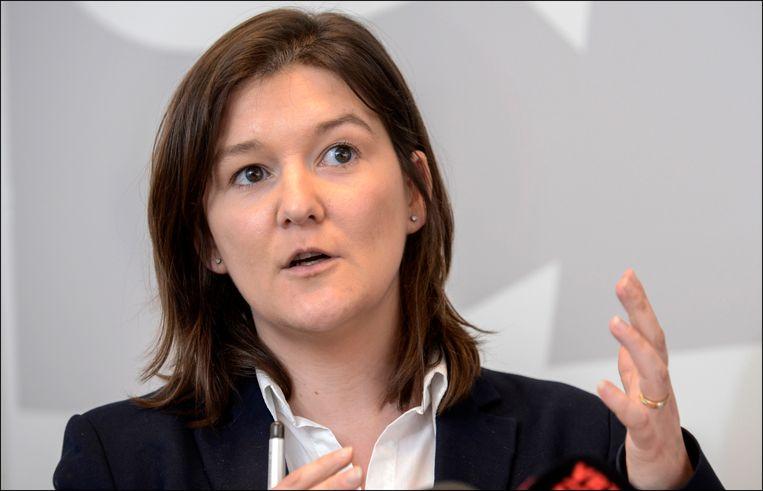 Cindy Franssen (CD&V). Beeld Photo News