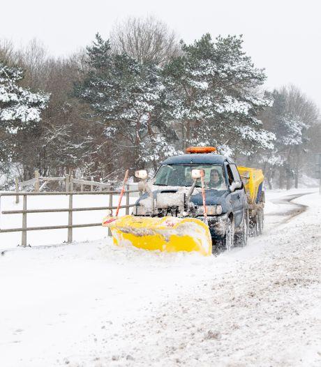 Ommer ondernemers blazen sneeuwprotest af, nadat gemeente toch met schuiver langskomt