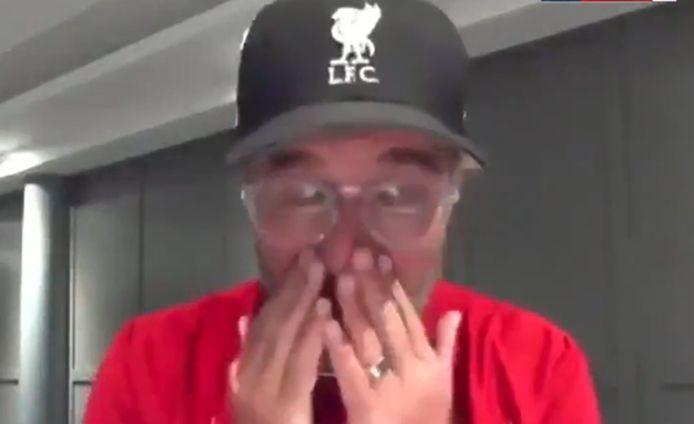Jürgen Klopp ému après le sacre de Liverpool